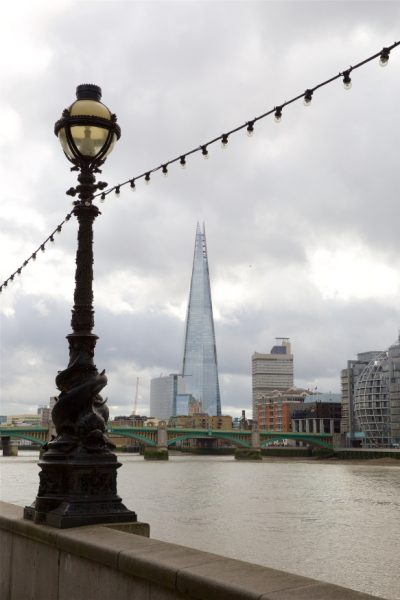 A view of the Shard across the Thames